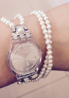 orologio swatch perle