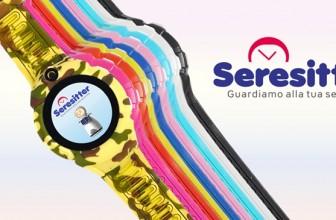 Come funziona Seresitter, lo smartwatch GPS per geolocalizzare i bambini